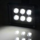 HML 6W 600lm 6500K 6 x SMD 3030 LED White Light Human Body Infrared Induction Floodlight (100~240V)