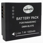 DMW-BLH7 7.2V 680mAh Replacement Battery Pack for DMW-BLH7E BLH7 - Black