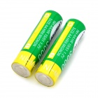 LetterFire Rechargeable 3000mAh AA NiMH Battery w/ Box - Green + Golden (1.2V)