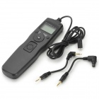 Digital Timer Remote Control for Canon 550D 5DIII 5DII - Black