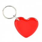 122205 Love Heart Shaped Rewritable Waterproof Smart Cellphone NFC Smart Tag - Red