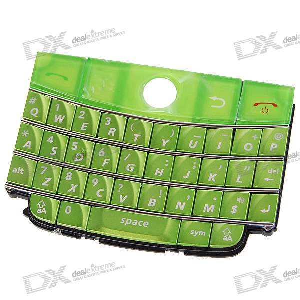 Repair Parts Replacement Keypad for Blackberry D9000 (Green)