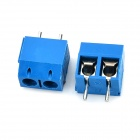 PCB 2pin Screw Terminals - Deep Blue (10PCS)
