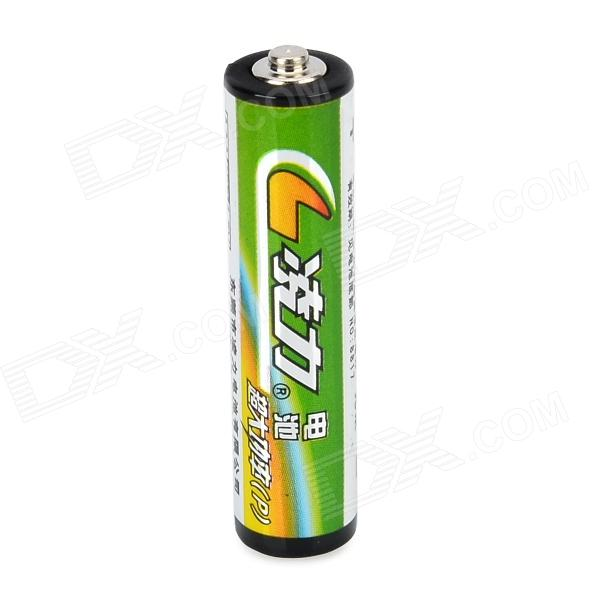 Lingli P03P 1.5V AAA Alkaline Batteries - Dark Green + Yellow + Multicolored (6 PCS)