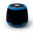 LSY Ultra-Portable Stereo Wireless Bluetooth v2.1 Speaker Audio w/ 3.5mm Aux-In, TF - Black + Blue