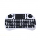 CPTCAM CP-Pad Wireless 2.4GHz 89-Key Keyboard Air Mouse w/ Gamepad for Windows 8 - Black + White