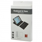 Z-2 59-Key PU Leather Bluetooth V3.0 Keyboard w/ PU Leather / Holder for IPAD MINI 2 - Light Brown