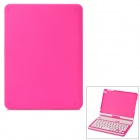 Folding Rotatable Bluetooth V3.0 59-Key Keyboard w/ Case for iPAD MINI / IPAD MINI 2 - Pink