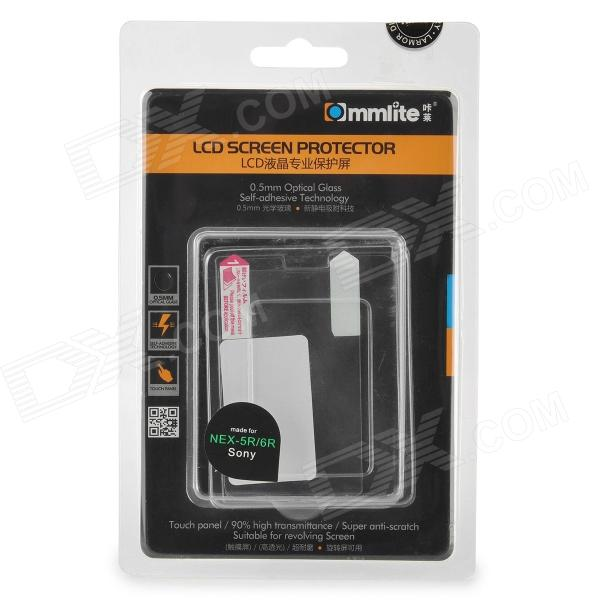 Commlite CM-LSP Protective Clear LCD Screen Guard Film for Sony NEX-5R / 5N