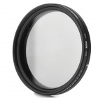 Commlite ND2-400 49mm Variable Fader Filter for Digital Camera - Black + Transparent