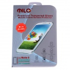 MILO Second Generation Premium Tempered Glass Screen Protector for Samsung Galaxy Note 3