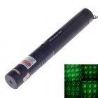 303 8-in-1 Green Laser Pointer w/ Battery / Charger - Black