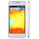 """N9002 Dual Core Android 2.3 GSM Bar Phone w/ 4.5"""" / Wi-Fi / Quad-Band / Camera - White + Silver"""