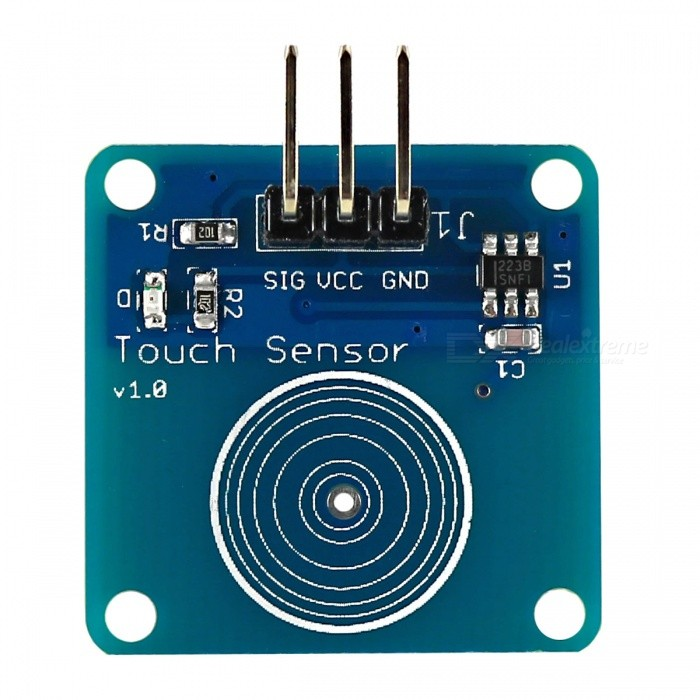 Produino Jog-type Touch Sensor Capacitive Touch Switch Module for Arduino - Blue