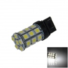 7443 / 7440/T20 6W 300lm 27 x SMD 5050 LED White Car Steering / Brake / Backup / Tail Light - (12V)