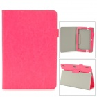 "Protective PU Leather Case w/ Auto Sleep for Amazon Kindle Fire HDX 8.9"" - Deep Pink"