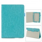 Protective PU Leather Case w/ Auto Sleep for Amazon Kindle Fire HDX 8.9 - Sky Blue
