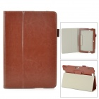 "Protective PU Leather Case w/ Auto Sleep for Amazon Kindle Fire HDX 8.9"" - Brown"