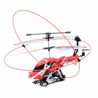 YD923 Rechargeable 3.5-CH R/C Helicopter + Wireless Controller Toy - Black + Red