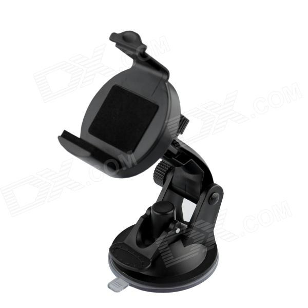360 Degree Rotation Car Suction Cup Stand Holder Mount Bracket for GPS / Cell Phone - Black windshield universal swivel rotation car mount holder for cell phone gps psp iphone black
