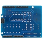 Produino 4.5~5.5V Clock Shield with Wire Digital Expansion Board Module for Arduino - Blue + Black