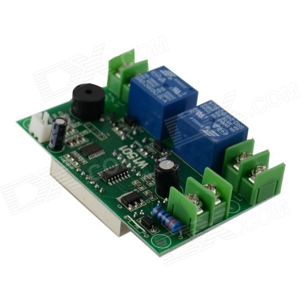 HZDZ-W1501 0.56 LED Red Digital Automatic Temperature Controller - Green (24V) hzdz microcomputer temperature control switch black 5v