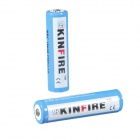 CE /MSDS /UN38.3 KINFIRE 3.7V Rechargeable Li-ion 2200mAh 18650 High Power Battery