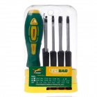 FEIBAO FB0092 Type C Multi-fonction Convenient Screwdriver Set Repairing Tool - Yellow
