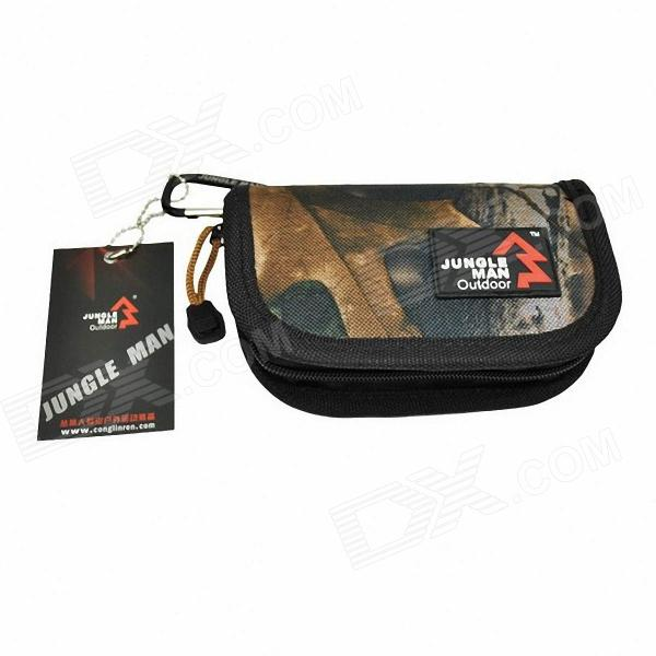 JUNGLE MAN T143 Portable Waterproof Bait Bag - Bionic Camouflage