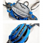 e808 Outdoor Multi-funksjonell Sports Waist Bag - Blå