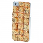 Stylish Crystal Stone Style Protective ABS Back Case for Iphone 5 - Golden