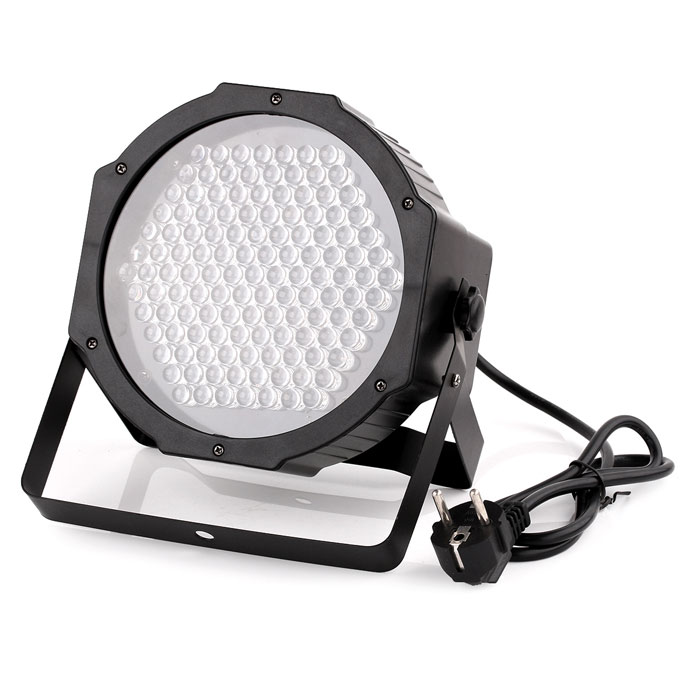 DMX512 127-LED RGB Effect Light Stage Light for Disco DJ / Party Show - Black (EU Plug / AC 90~240V)