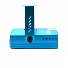 HT-M-15 4-in-1 Stage Lighting Projector MP3 Player Speaker w/ USB / SD / Remote Controller - Blue