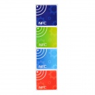 112406 Universal 13.56MHz NFC Smart Tag Set - Light Blue + Green + Deep Blue + Red