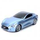AK56021 1:18 4-CH Infiniti Essence Concept R/C Model Car Toy - Light Blue
