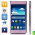 "Z.doxio miniN900(SM-N900) MTK6572 Dual-core Android 4.3 GSM Bar Phone w/ 4.7"", Wi-Fi, FM - Pink"