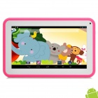 "P706 7"" Android 4.2 Tablet PC w/ 512MB RAM / 4GB ROM for Kids - Pink + White"