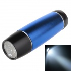 Small Sun ZY-718 80lm 6000K 9-LED White Light Flashlight - Blue + Black (3 x AAA)