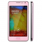 "N900 mini Dual Core Android 4.3 Bar Phone w/ 4.7"" Capacitive Screen, Wi-Fi, Bluetooth - Pink"