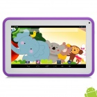 "P706 7"" Android 4.2 Tablet PC w/ 512MB RAM / 4GB ROM for Kids - Purple + White"