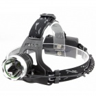 Cree XM-L T6 900lm 3-Mode Cold White Light Headlamp - Black (1 x 18650)