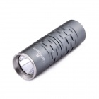 LightsCastle Cree XP-G R5 1-Mode 250LM Flashlight - Grey (1 x 16340 / 123A)
