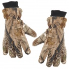 Motorcycle Cycling Winter Hand Warm Gloves - Camouflage