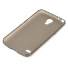 LX-G910 Protective TPU Back Case for Samsung Galaxy Round G910 - Translucent Coffee
