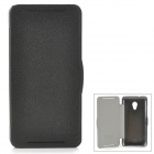 NILLKIN Protective PC + PU Leather Case for HTC Desire 700 / 7088 - Black