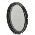 ND2-400 Variable ND Filter for 55mm Lens Camera - Black