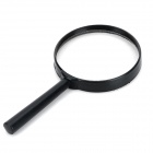 FDJ High Clear Handheld Reading 8X Magnifier - Black + Transparent