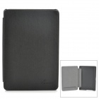 Stylish Protective PU Leather + PC Case for Sony T3 - Black