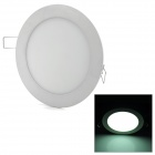 12W 750lm 6000K 60-SMD 2835 LED White Light Round Panel Light (AC 85~265V)