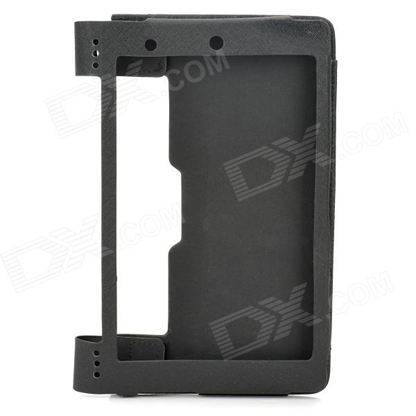 Protective PU Leather Case for 8 Lenovo Yoga Tablet B6000 - Black чехол для планшета oem yd60 lenovo 8 b6000 8 lenovo b6000 for lenovo yoga tablet 8